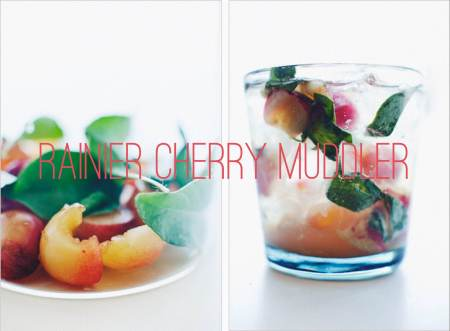 Rainier cherry muddler